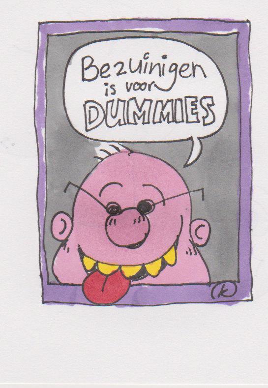 bezuinigen is voor dummies.
